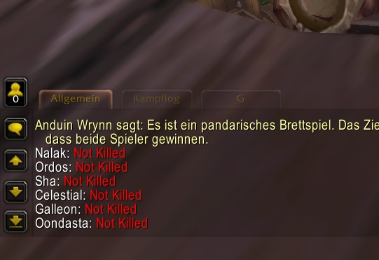 Chatauszug aus World of Warcraft