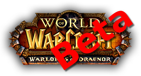 Warlords of Draenor Beta Logo
