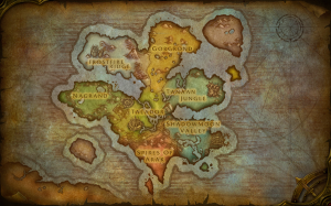 draenor map beta