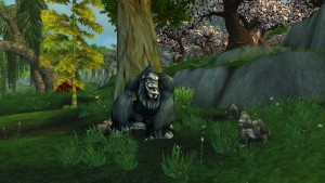 hunter pet gorilla