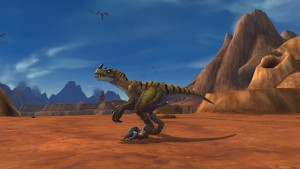 hunter pet raptor