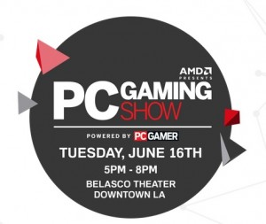 pc gaming show logo e3