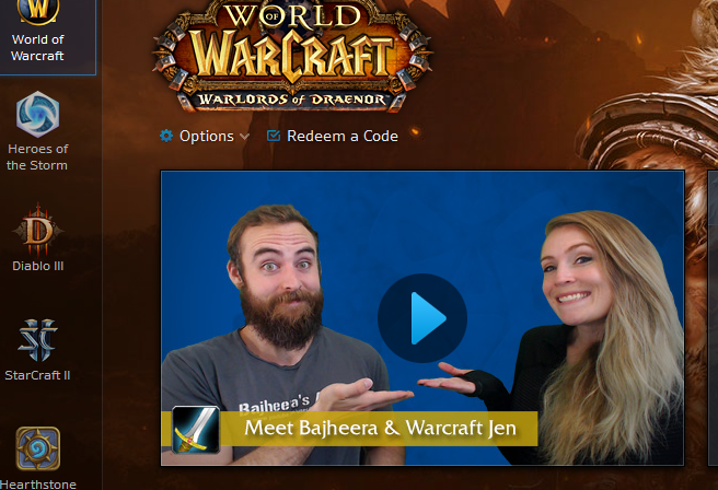 warcraft launcher youtube videos