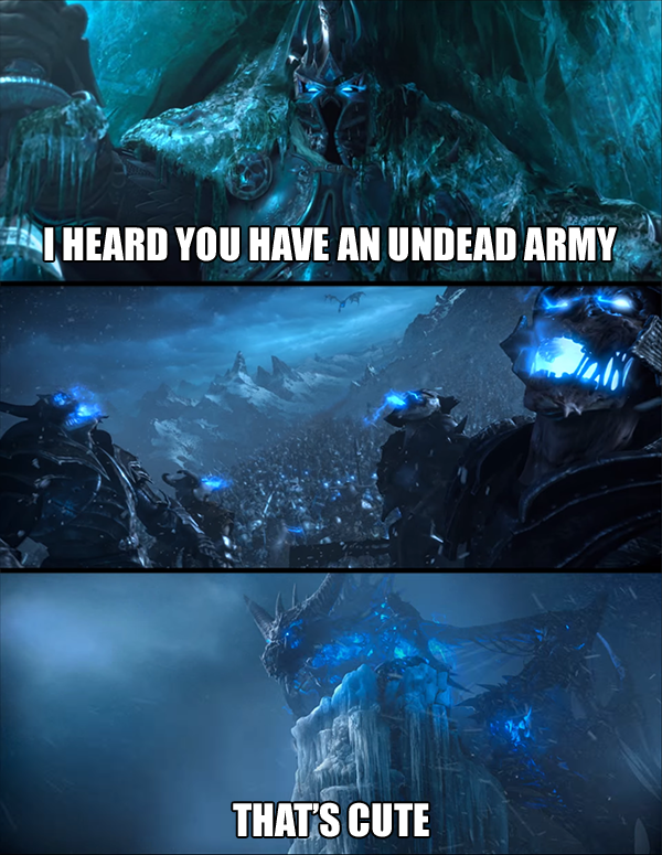 lich king game of thonres